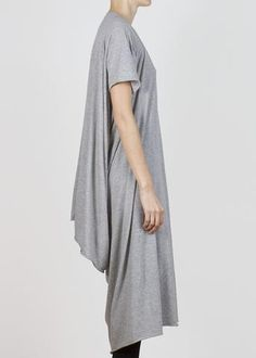 double tube t - grey heather Tube, Women Wear, Tunic Tops, Grey, Cotton, How To Wear, Clothes, Shopping, Fashion