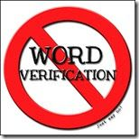 CLICK HERE TO LEARN HOW TO REMOVE WORD VERIFICATION