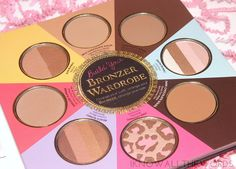too faced little black book of bronzers (4)