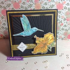 6x6 card made with S