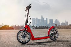 MINI presents the citysurfer concept, a collapsable urban electric scooter
