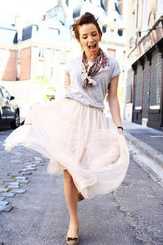 I would love to have a skirt like this! <3