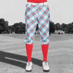 Golf Knickers - Well Plaid Tartan Knickers