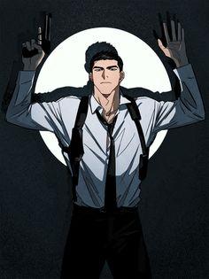 Manga Boy, Manga Anime, Anime Art, Cute Anime Guys, Anime Love, Black Cartoon, Walk On Water, Boy Character, Handsome Anime