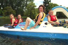 Waimarino Adventure Park Pedallo boats.