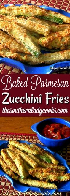Zucchini fries are another way to use up some of your garden squash.  I like them with salsa as a snack or as a side dish with any meal. The Parmesan cheese adds a great flavor …