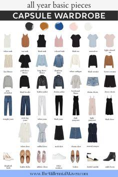 Capsule Wardrobe Women, Capsule Outfits, Fashion Capsule, Wardrobe Basics, Closet Basics, Work Wardrobe, Fall Wardrobe, Capsule Wardrobe Winter, Capsule Wardrobe Examples