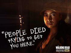 Rosita. The Walking Dead Season 5