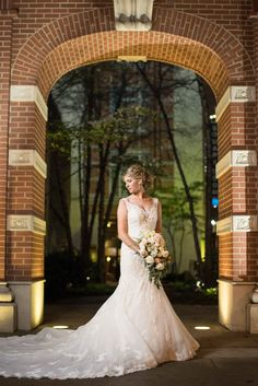 Downtown Knoxville bridal portraits with Knoxville wedding photographers Shane and Beth Hawkins. Click to see more photos and our blog.