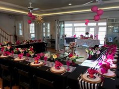 Super birthday table ideas for women decoration bridal shower 40 Ideas Chanel Birthday Party, 70th Birthday Parties, Birthday Table, My Bridal Shower, Baby Shower, Bridal Shower Games, Kate Spade Party, Kate Spade Bridal, Christmas Bridal Showers