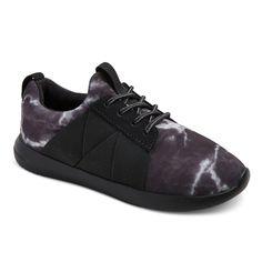 Boys' Pierce Slip On Casual Sneakers - Art Class Black 6