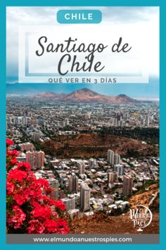 Santiago de Chile en 3 días - Qué ver #Chile Backpacking India, Backpacking South America, Santa Lucia, The Places Youll Go, Places To Visit, Travel Itinerary Template, Travel Photography, Around The Worlds, Koh Tao