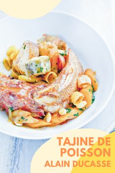 Alain Ducasse, Pasta Salad, Ethnic Recipes, Food, Red Mullet, Lemon, Pisces, Recipe, Dating
