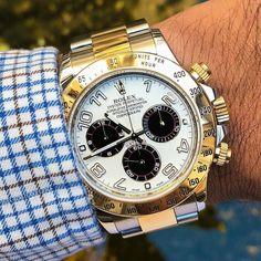 Sleek and Fresh Rolex Daytona with Panda Dial $12500