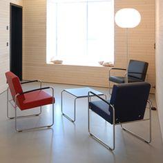 Hand-picked by our design team: Genio Lounge von Dietiker Ein komfortables Modell für Sitzungen und Verwaltungsbereiche. Genio bietet höchsten Sitzkomfort und ist dabei leicht zu reinigen – die ideale Sitzlösung für die Ausstattung von Meetingräumen. Erhältlich auch in der Stuhl-Ausführung. #chair #home #design #designclassic #designklassiker #klassiker #wohnzimmer #livingroom #furniture #interior Lounge, Home Design, Furniture, Chair, Home Decor, Armchair, Cleaning, Scale Model, Living Room