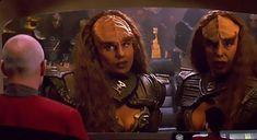 Dynamic Duos: Lursa and B'Etor Klingon Empire, Star Trek Klingon, Star Trek Tv, Star Trek Movies, Sci Fi Tv Shows, Sci Fi Series, Star Trek Characters, Female Characters, Star Trek Generations