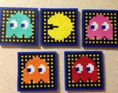 perler bead coasters – Etsy