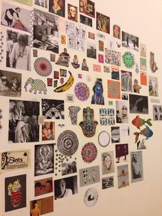 want to do this to my room Room Ideas Bedroom, Bedroom Decor, Retro Room, Indie Room, Room Goals, Aesthetic Room Decor, Cool Rooms, Wall Collage, Pictures