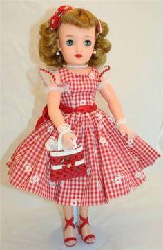 SWEETIE-Ideal-Miss-REVLON-vt-18-Vintage-50s-18-Fashion-Doll-Cissy-pal