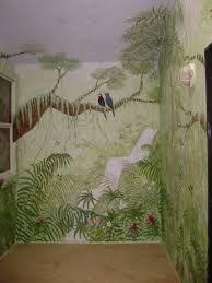 Image result for jungle mural