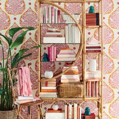 The Fresh Twist - 4 Vintage, Beachy Finds and How to Decorate with Them - Coastal Living Beachy Room, Beach Living Room, Coastal Living, Coastal Decor, Seaside Shops, Modern Holiday Decor, Pink Cushions, Graphic Wallpaper, Nautical Fashion