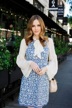 Alyssa Campanella The A List blog Miss USA 2011 Related Esme Dress Liah Blouse Chloe Small Drew Bag Pink