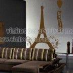 Vinilos Decorativos de Ciudades Skyline de paris, para cabeceras salas de estar