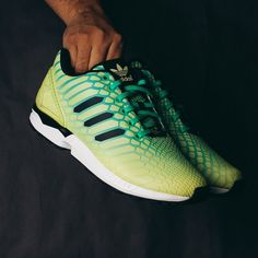 Adidas Xeno Zx Flux Borealis (Glow In The Dark) $130