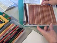 Colored Pencil Tutorial from @HarmonyFineArts