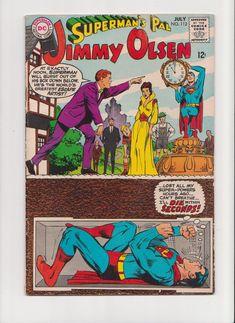 Vintage 1968 Superman's Pal Jimmy Olsen DC Comics by michiegoodsny