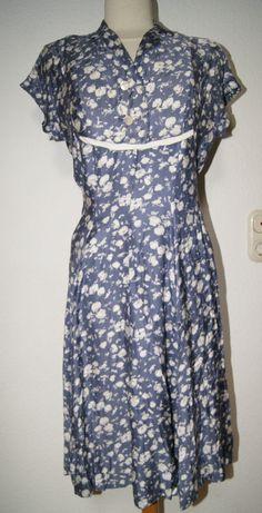 Vintage Kleid 1940er/ 1950er Jahre Gr. 40 - 42