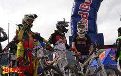 Asi lucían varios de los competidores antes de empezar - Foto: Alejandra Rivas