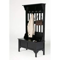Home Style 5650-49 Full Hall Tree and Storage Bench, Black Finish Home Styles,http://www.amazon.com/dp/B0012ZCETM/ref=cm_sw_r_pi_dp_ONHotb1RPJN9KHNP