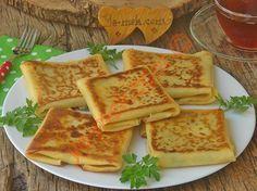 Hafta sonu kahvaltılarında ya da çay saatlarinde ikram edeceğiniz, oldukça lezzetli ve doyurucu, börek tadında nefis bir tarif...