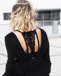 78 vind-ik-leuks, 4 reacties - Lisa Kouwenberg (@llittleblonde) op Instagram: 'It's in the details! ✔ #lace #messyhairdontcare'