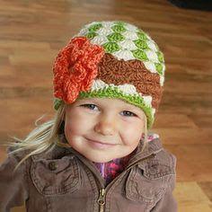 Resultado de imagem para touca infantil menina crochet