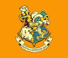 harry potter with pokemon