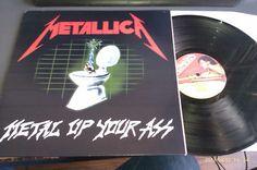 popsike.com - Metallica Metal up your ass Bootleg LP MFN 7-1 MUA ...