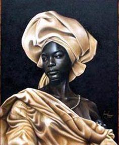 Princess of the moors (Black Art in America) African History, African Art, By Any Means Necessary, Black Artwork, Orisha, Ludwig, Afro Art, African Diaspora, Black Women Art
