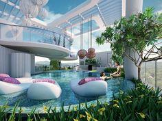 31 Ideeën Over Makati Luxe Zwembaden Zwembad Ontwerpen Bovengrondse Zwembaden