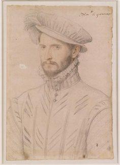 Antoine d'Aure, baron de Grammont, vicomte d'Auster-en-Bigorre (après 1526-1576) .... Clouet François (vers 1515-1572) .... 1559 .... gouverneur de Navarre