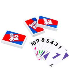 Skip Bo card game #summer #camp #carepackage #ideas Great for a large group of people (cabin) to play. Easy to learn but requires some skill and lots of luck!
