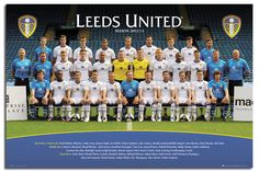 Leeds United Squad 2012 / 2013 LUFC