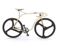 Designer anglais, Andy Martin a collaboré avec la marque de mobilier Thonet pour développer un concept de vélo de route en utilisant le procédé manuel de cintrage du bois à la vapeur créé en 1930 par l'entreprise.  Conçu avec du bois de hêtre, le cadre est précisément ajusté à l'aide d'une machine à commande numérique, il en va de même pour toutes les parties sensibles du cadre (jointures et articulations). La numérisation 3D a donné aux éléments de renfort une haute résistance.