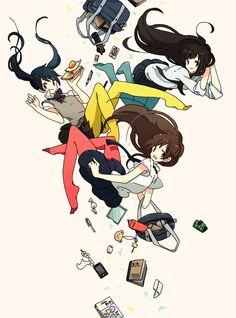 「カラータイツ」/「けーしん」のイラスト [pixiv] Anime School Girl, Anime Art Girl, Anime Girls, Otaku, Manga Drawing, Manga Art, Pretty Art, Cute Art, Anime Lindo