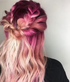 "2,593 Likes, 35 Comments - Joico Color Intensity (@joicointensity) on Instagram: "" V-Day Vibes by @tanyastouchofglam  #pinkhair #joico #colorintensity #hairjoi #joicointensity…"""