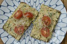 Hummus - vegetarisch broodbeleg - Healthy Vega