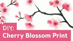 How to Paint Cherry Blossoms    Sea Lemon