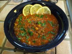 Moroccan Lentil And Chickpea Soup Recipe - Food.com