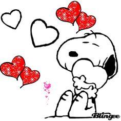 14 de febrero: San Valentín Snoopy